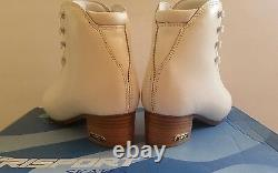 NEW Risport RF3 Super Ice Figure Skating Boots Lady C Size (Europa 24 = USA 5)