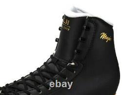 New G H LS Magic Black Inline Figure Skates US Size 3.5D