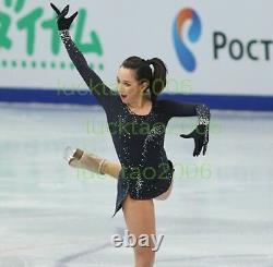 New Style Adult Figure Skating Ice Skating Dress Baton Twirling Costume 80094