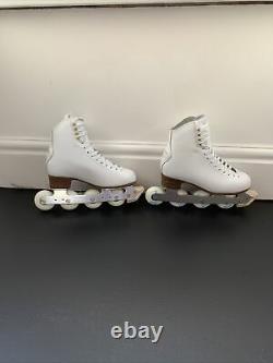 OFF ICE SKATES INLINE FIGURE ROLLER BLADES Size 37 Or Uk 4