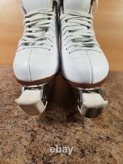 Off ice figure skates Graf 500 ladies juniors UK 6.5 EU 40 260mm elite blades