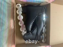 Off-ice inline figure skates adult size 10 with elite blade