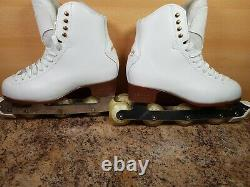Off ice skates Graf 500 ladies UK 6 EU 39 US 8 260mm elite blades hockey figure