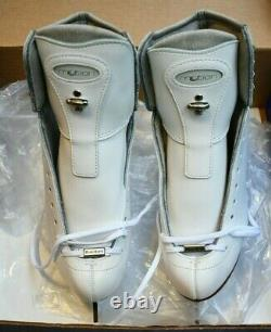 RIEDELL 255 MOTION Ladies Ice Skates White Size 5 A boots ASTRA blades figure
