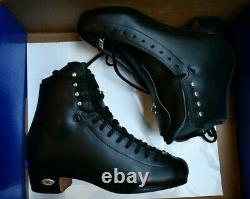 RIEDELL 255 Motion Men's Ice Skates BLACK Boot Only figure boys size 4.5 MEDIUM