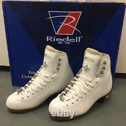 Riedell 43 Bronze Star Figure Skate Boots 3 B/A