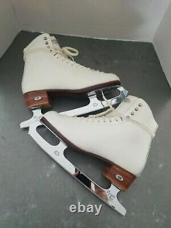 Riedell Figure Sz 8 Skates With John Wilson Coronation Ace Blade 10¾