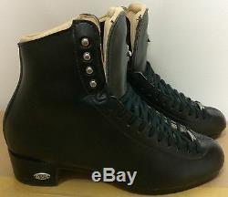 Riedell Model 435 Figure Skates Size 9 Medium Width Black Boot Only 9502