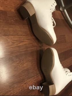 Risport RF2 Uk 4 250 C Width New In Box Ladies Figure Skating Boots