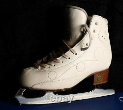 Risport Royal Pro Figure Skates 240 with john wilson coronation ace blade 9.00