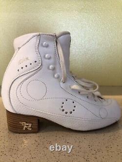 Risport figure skates, Royal Elite 23.5 B Labor Day Big Sale! Was $280