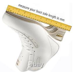 Snow White Artistic Inline Figure Skate Size 16 265 mm