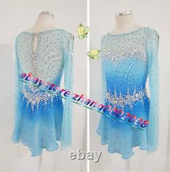 Sparkles Ice Skating Dress. Competition Figure Skating Dance Twirling Costume