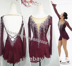 Sparks Boutique Ice Skating Dress. Competition Figure Skating Twirling Costume