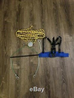 Stationary Harness System for Figure Skating& Roller