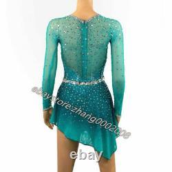 Stylish Ice Skating Dress. Figure Skating Competition Dress. Twirling Baton Custom