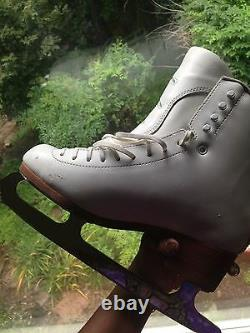 Women Jackson Synchro Figure Skating Boots and Blades DJ3410 Size 9.5B